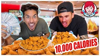 200 Spicy Nuggets in 10 Minutes RACE!! ($10,000 DOLLAR PRIZE) *TASTE TEST*