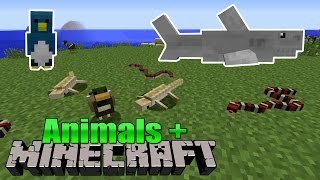 Animals+ Minecraft Mod