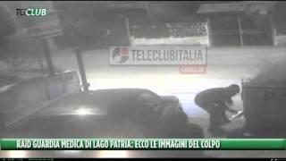 Raid alla guardia medica di Lago Patria: le immagini shock dell