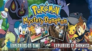 TAS (DS) Pokémon Mystery Dungeon - Explorers of Darkness VS Time [Race]