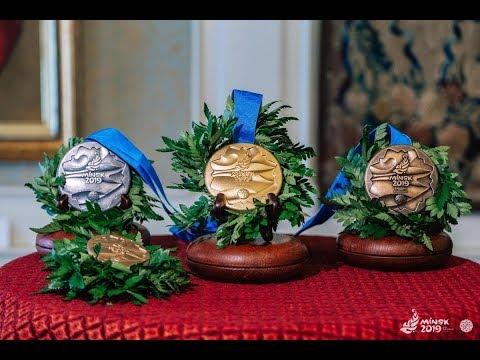В Мире презентовали медали II Европейских игр