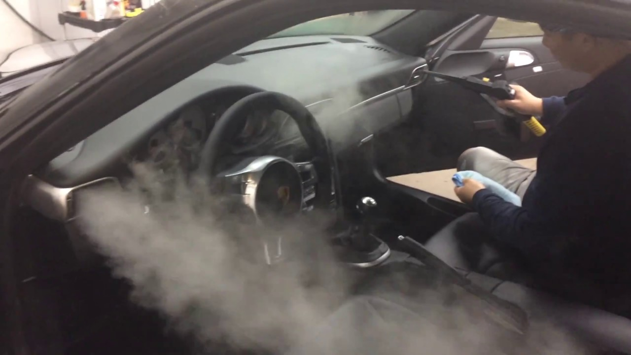 Auto Detailing Steam Cleaner >> Steam Cleaning Car Vents Air Duct System | RS AUTO SPA - YouTube
