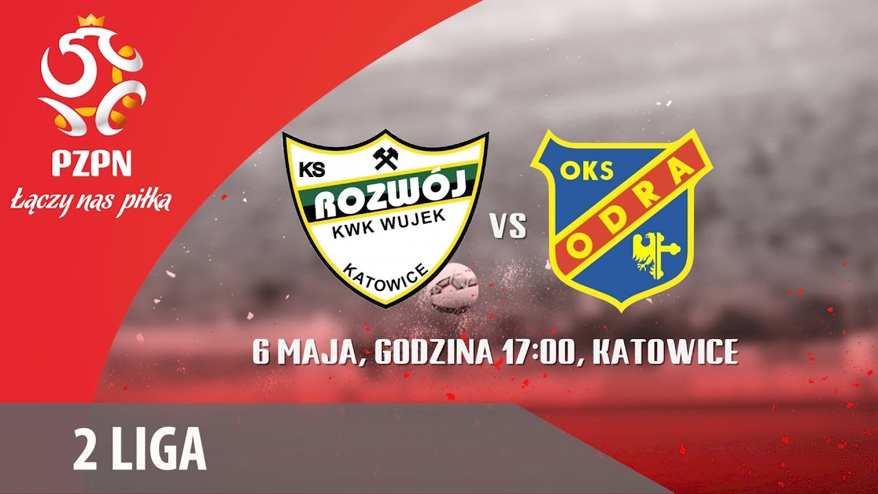 2 Liga: Rozwój Katowice – Odra Opole