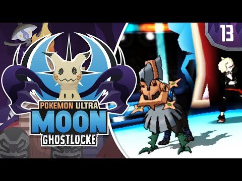 STOP GLADION, PLEASE! Pokemon Ultra Sun and Moon GhostLocke Walkthrough w/ aDrive! Ep 13
