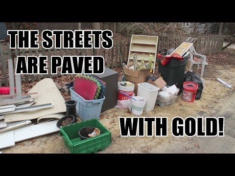 FINDING GOLD SCORES IN THE TRASH!