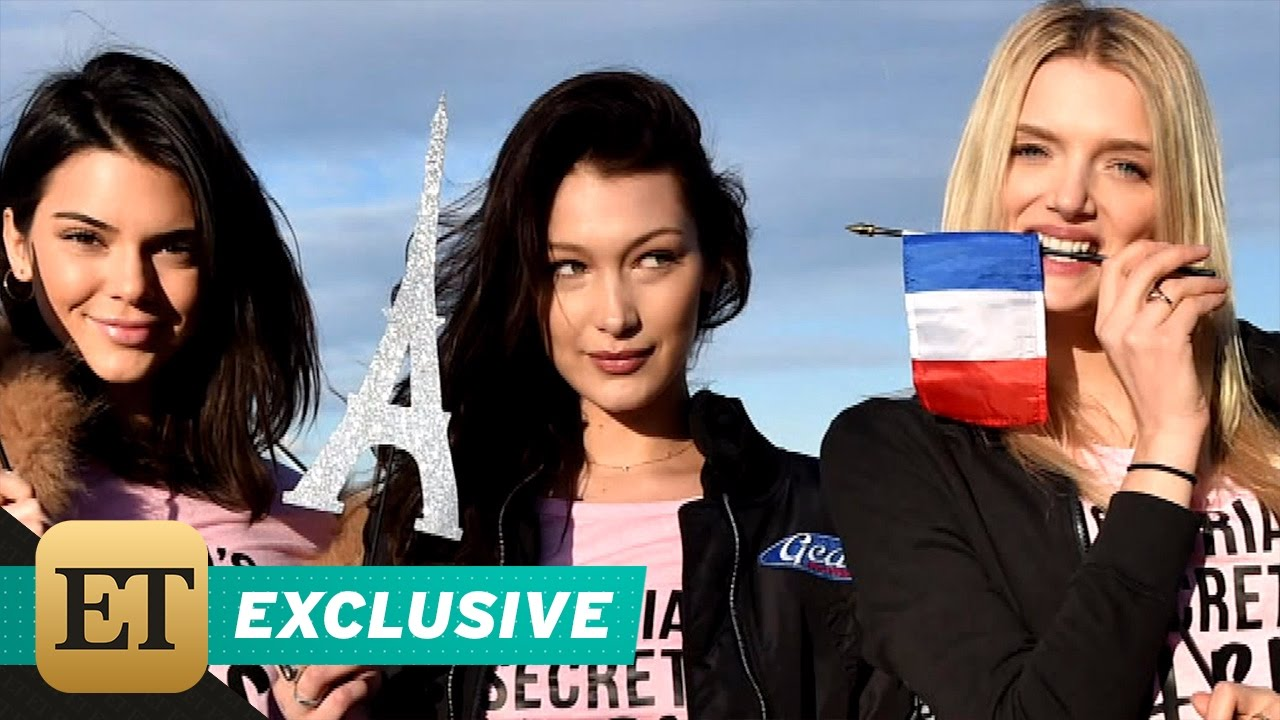 EXCLUSIVE: ET Flies With Victoria's Secret Angels as They Jet to Paris for 2016 Fashion Show