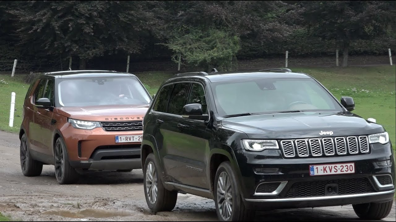 Land Rover Vs Jeep >> Land Rover Discovery Vs Jeep Grand Cherokee Youtube