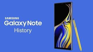 Samsung Galaxy Note History