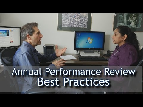 Annual Performance Review Best Practices
