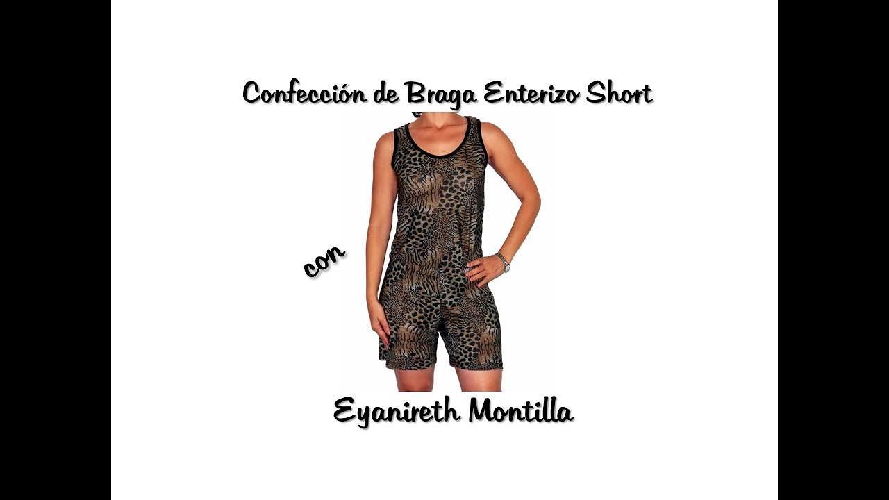 cc84e9b15286 Confección de Braga Enterizo Short