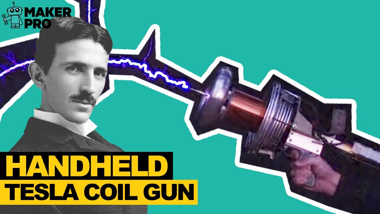 Diy Tesla Coil Gun Youtube