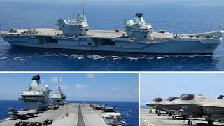 video: On board HMS Queen Elizabeth: Navy's £3bn warship playing cat and mouse with Russia