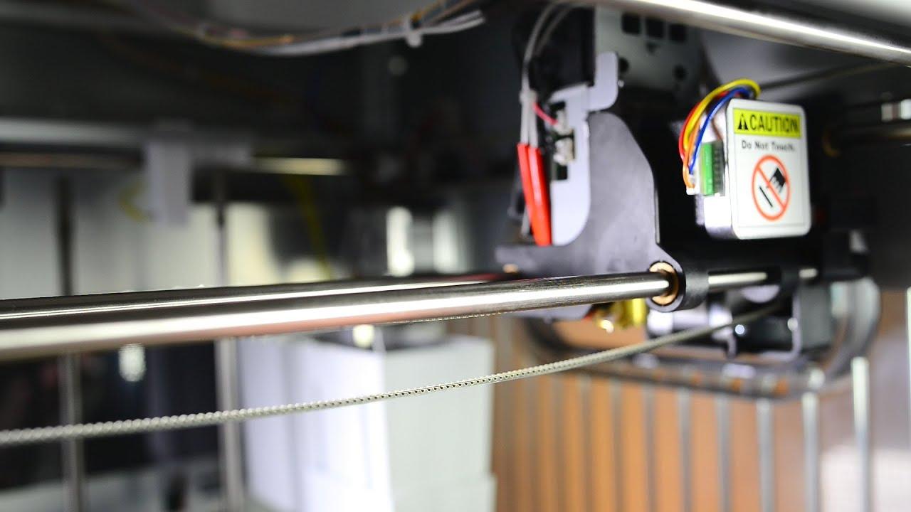 xyzprinting da vinci 1 0 1 0a drive belt tension youtube rh youtube com how to make a serpentine belt stop squealing how to make a serpentine belt stop squealing