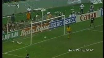 Fussball WM 1986 - Deutschland vs Mexiko (Viertelfinale)