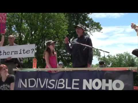 John Bonifaz Speaks at the Northampton March For Truth