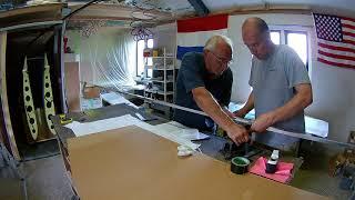 Van's RV-7 Build Fuselage Bending the Longerons (087)