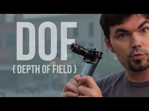 Depth of Field on iPhone - (Kodak Zi8) DOF - Filmmaking QUICK FX