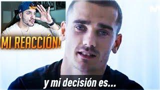 ¡¡REACCIONANDO A LA DECISIÓN DE GRIEZMANN EN DIRECTO!!