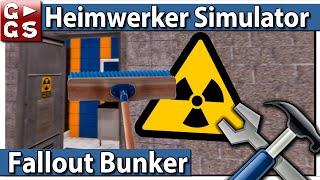 HEIMWERKER SIMULATOR 🛠 FALLOUT Bunker einrichten ► #19 House Flipper deutsch