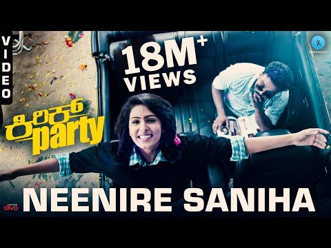 Neenire Saniha - Video Song | Kirik Party...