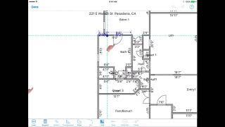 Cutout / Elevation - MeasureSquare iPad Edition