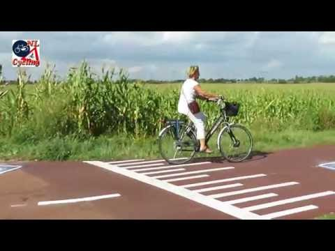 The F59 cycle route from Den Bosch to Oss
