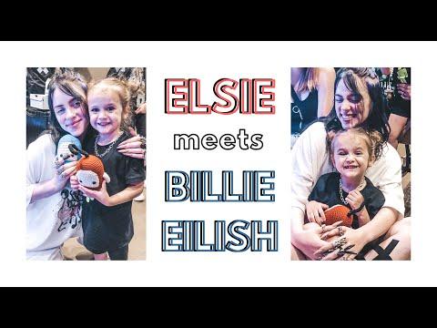 ELSIE MEETS BILLIE EILISH (AGAIN)   CONCERT VLOG