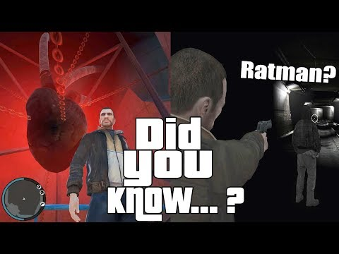 Happy 10th Anniversary GTA 4! Easter Eggs and Secrets
