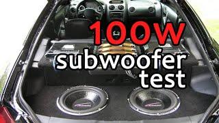 100 ватный саб в машине / 100W subwoofer Vito Mercedes Tuning(, 2015-01-14T18:39:28.000Z)