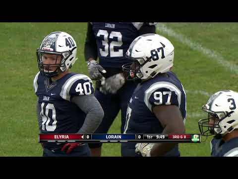 High School Football Lorain vs. Elyria 9-7-17 Game 3