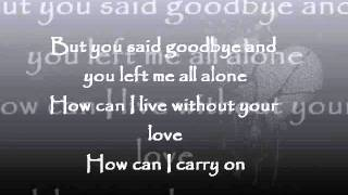 Goodbye Is Not Forever - Eric Santos Lyrics