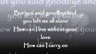 Goodbye Is Not Forever - Eric Santos Lyrics