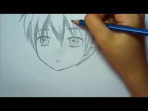 Easy Anime Boy Drawing Youtube