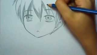 easy anime boy drawing ^^