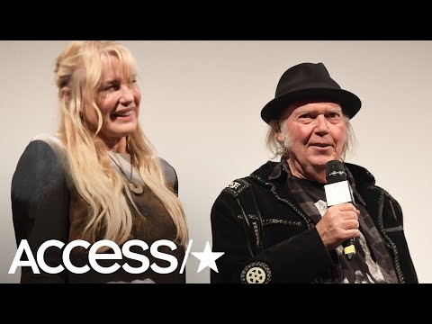 Neil Young & Daryl Hannah Confirm They're Married In Surprise Way!  Access