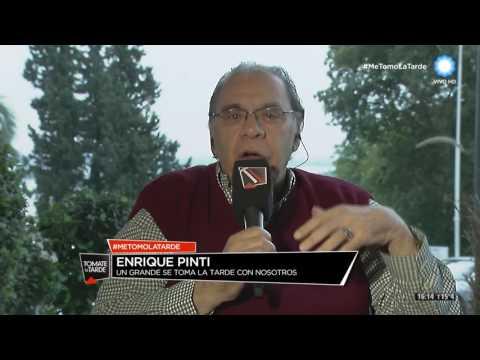 Enrique Pinti desde el móvil de Santa Fe en Tomate la tarde (1 de 3)