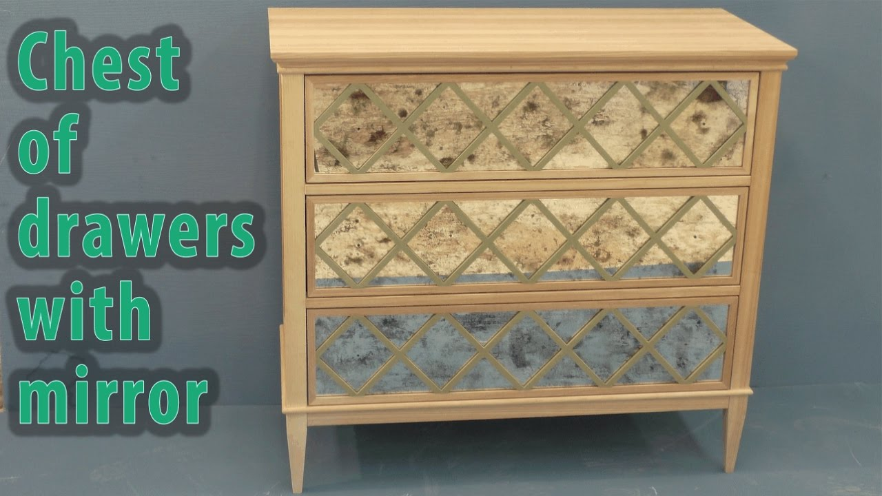 Chest Of Drawers With Mirror Youtube