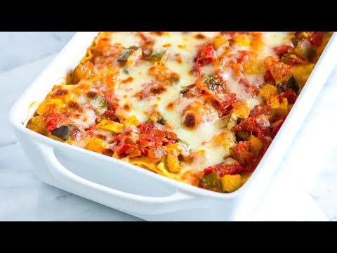 easy-vegetable-lasagna-recipe---how-to-make-fresh-vegetable-lasagna