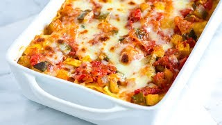 How To Make Fresh Vegetable Lasagna - Vegetable Lasagna Recipe