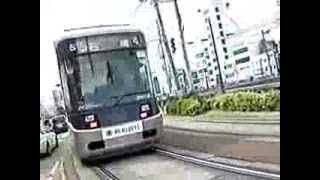 長崎電気軌道3000形 (※108SH評価試験用動画)