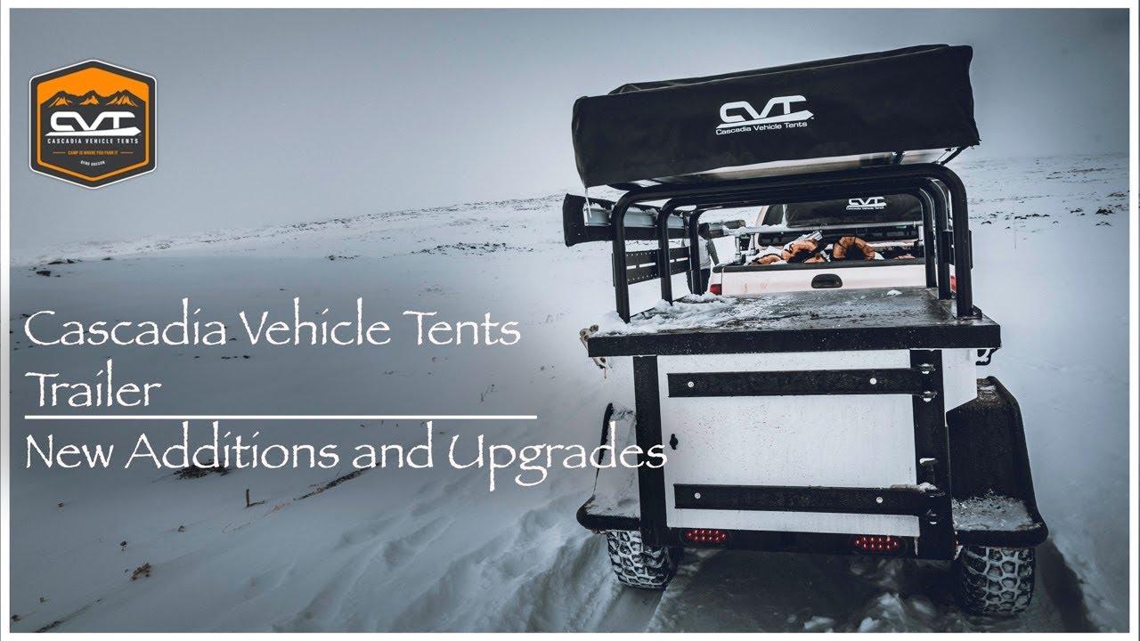 CVT - Cascadia Vehicle Tents Trailer | New Updates  sc 1 st  YouTube & CVT - Cascadia Vehicle Tents Trailer | New Updates - YouTube