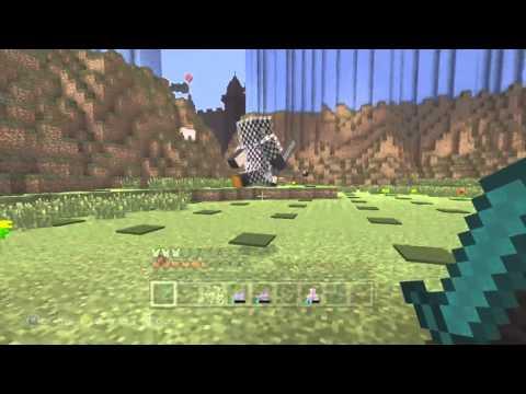 Minecraft Xbox: Hunger Games {Mario Universe}