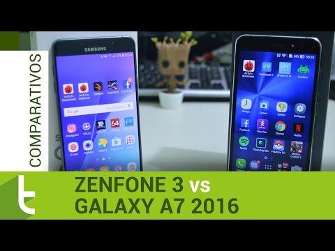 Comparativo: Zenfone 3 vs Galaxy A7 2016 | TudoCelular.com