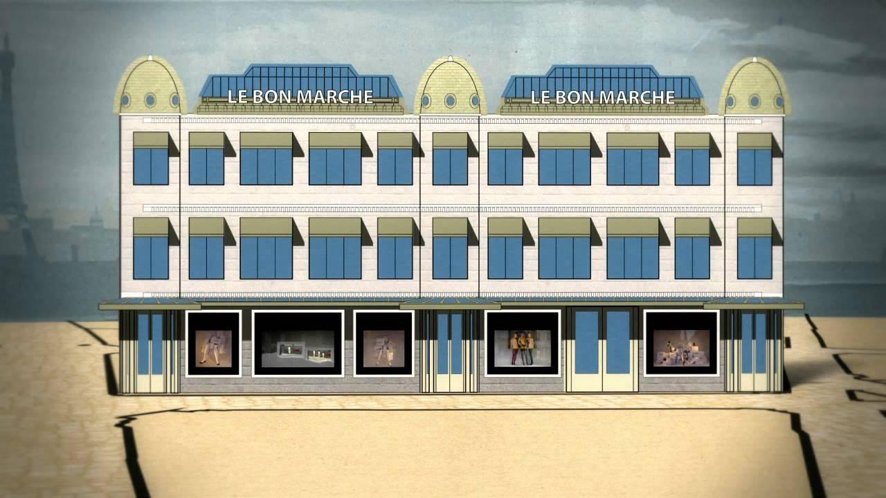 Le bon march rive gauche 1852 2012 160 ans de cr ation youtube - Le bon marche rive gauche ...