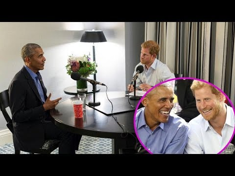 Prince Harry interviews Barack Obama for radio show