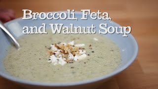 Broccoli, Feta And Walnut Soup | Abel & Cole