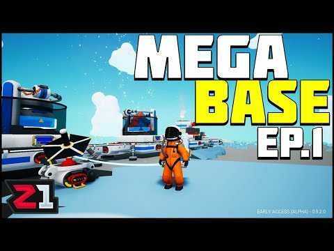 Beginning the MEGA BASE ! Astroneer Ep 1 | Z1 Gaming