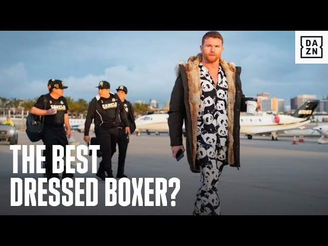 Who Is The Best Dressed Boxer In The World?
