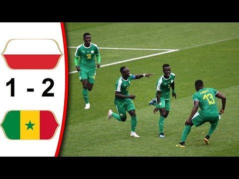 Poland vs Senegal 1 - 2 FIFA World Cup 2018
