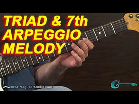 SONGWRITING: Triad & Seventh Arpeggio Melodies